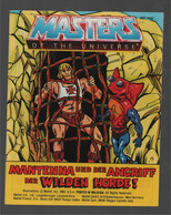 Mattel Masters Of The Universe Deutsch/Italiano Mini Comic Mantenna ...! 1984 - Other Publishers