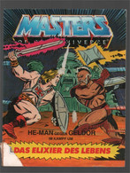 Mattel Masters Of The Universe Deutsch/Italiano Mini Comic He-man Gegen/contro Geldor 1983 (Houston Lee) - Other Publishers