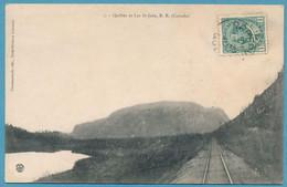 Québec Et Lac St-Jean R.R. - Circulé 1910 - Andere