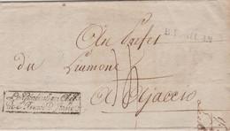 "LSC - ""B.F. MILAN "" + "" Le Général En Chef De L'Armée D'Italie "" / 15 PRAIRIAL AN 12 - 1801-1848: Precursors XIX"
