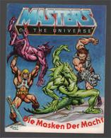 Mattel Masters Of The Universe Deutsch/Italiano Mini Comic Die Masken ... / Le Maschere ... 1983 (Alfredo P. Alcala) - Other Publishers