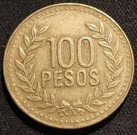 COLOMBIE - COLOMBIA - 100  PESOS 2006 - KM 285.2 - ( Chiffres De 6 Mm De Haut ) - Colombia