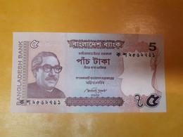 BANGLADESH 5 TAKA 2012 BILLET NEUF - Bangladesh