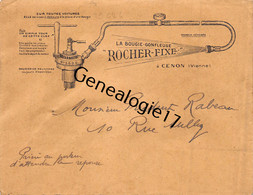 86 0958 CENON SUR VIENNE 1941 M. ROCHER La Bougie Gonfleuse Pour Automobiles Autos - Cars