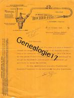 86 0960 CENON SUR VIENNE 1929 M. ROCHER La Bougie Gonfleuse ROCHER FIXE Pour Automobiles Autos - Cars