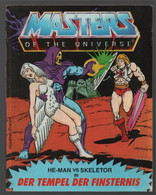Mattel Masters Of The Universe Deutsch/Italiano Mini Comic He-man Vs/contro Skeletor 1983 (Houston Forton) - Other Publishers