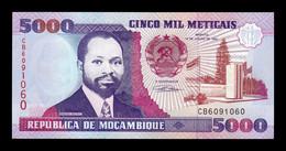 Mozambique 5000 Meticais 1991 Pick 136 SC UNC - Mozambique