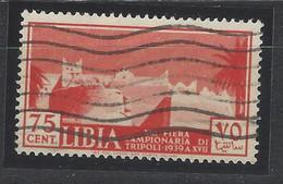 Libia - 1939 - Usato/used - Campionaria - Sass. N. 161 - Libya