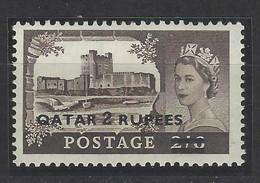 Qatar - 1957 - Nuovo/new MNH - Overprint - Mi N. 13 - Qatar