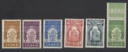 Yemen - 1947 - Nuovo/new MNH - Ordinari - Mi N. 47/52 - Yémen