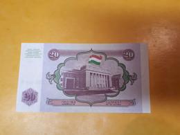 TADJIKISTAN 20 ROUBLES BILLET NEUF - Tajikistan