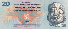 Czechoslovakia 20 Korun, P-92 (1970) - Extremely Fine - Czechoslovakia
