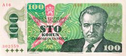 Czechoslovakia 100 Korun, P-97 (1989) - UNC - Czechoslovakia