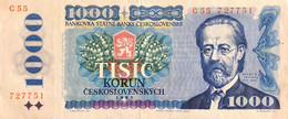 Czechoslovakia 1.000 Korun, P-98a (1985) - Very Fine - Czechoslovakia