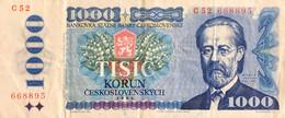 Czechoslovakia 1.000 Korun, P-98a (1985) - Fine - Czechoslovakia