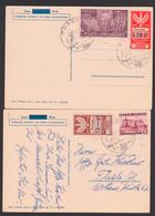 Posen Poznan, 2 Karten SoSt. 12.1.41 Polen MiNr. 317, 356 Mit Gebührenmarken - Sonstige