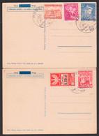 Posen Poznan, 2 Karten SoSt. 12.1.41 Polen MiNr. 336, 338 Mit Gebührenmarken - Sonstige
