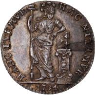 Monnaie, Netherlands Antilles, 1/4 Gulden, 1794, Utrecht, SUP, Argent - Netherland Antilles