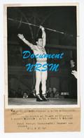 Photo De Sport / Haltérophilie / Ferrari, Recordman De France / Années 1940 - Deportes