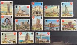 Isle Of Man 1978 MNH - Definitives Set - Isola Di Man