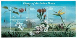 Maldives Flowers Of The Indian Ocean  Strelitzia Reginae MNH - Andere
