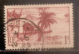ETABLISSEMENT FRANCAIS DE L OCEANIE OBLITERE - Oblitérés