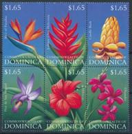 Dominique Flowers Fleurs Strelitzia Reginae MNH - Andere