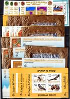 Israël 30 Blocs-feuillets Neufs ** MNH 1970/1986. TB. A Saisir! - Blocks & Sheetlets