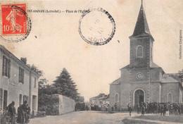 ¤¤  -  SAINT-AIGNAN-de-GRAND-LIEU   -  Place De L'Eglise         -   ¤¤ - Otros Municipios