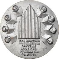 Italie, Médaille, XXXI Rassegna Internazionale Cappelle Musicali, Loreto, Arts - Altri