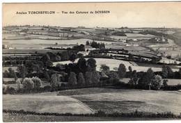 38- ANCIEN TORCHEFELON- VUE DES COTEAUX DE DOISSIN -ANIMEE - Andere Gemeenten