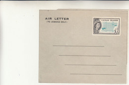 Cayman Islands, Air Letter Inused - Cayman Islands