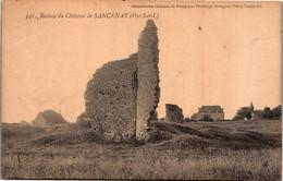 71 - Ruines Du Château De SANCENAY - Oyé - Other Municipalities
