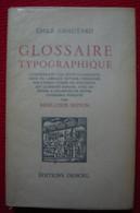 Glossaire Typographique – Émile Chautard - Dictionaries