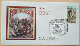 FDC 2002 - YT N°3481 - CYCLISME / PARIS ROUBAIX - ROUBAIX - 2000-2009