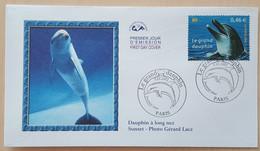 FDC 2002 - YT N°3486 - NATURE DE FRANCE / GRAND DAUPHIN - PARIS - 2000-2009