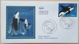 FDC 2002 - YT N°3487 - NATURE DE FRANCE / ORQUE - PARIS - 2000-2009