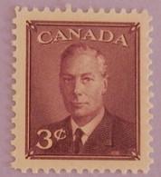 "CANADA YT 233 NEUF** MNH ""GEORGE VI"" ANNÉE 1950 - Nuevos"