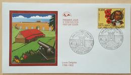 FDC 2002 - YT N°3491 - LOUIS DELGRES - BASSE TERRE - 2000-2009