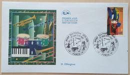 FDC 2002 - YT N°3502 - JAZZ / DUKE ELLINGTON - PARIS - 2000-2009