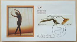 FDC 2002 - YT N°3507 - ART CHOREGRAPHIQUE - LYON - 2000-2009