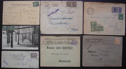 Tunisie  Lot De 6  Lettres Entre 1917 Et 1929, Différents états, Voir Photos - Covers & Documents