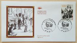 FDC 2002 - YT N°3521 - LE SIECLE AU FIL DU TIMBRE / VIE QUOTIDIENNE - PARIS - 2000-2009