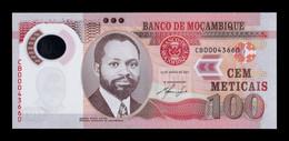 Mozambique 100 Meticais 2011 Pick 151a Polymer SC UNC - Mozambique