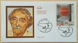 FDC 2002 - YT N°3535 - JESUS RAFAEL SOTO - PARIS - 2000-2009