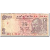 Billet, Inde, 10 Rupees, 1996, Undated (1996), KM:89, B - India