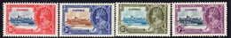 Gambia 1935 GV Silver Jubilee Set Of 4, Hinged Mint, SG 143/6 (BA2) - Gambia (...-1964)