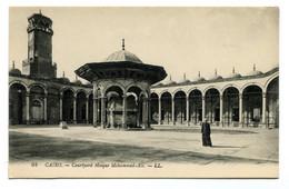 RC 20852 EGYPTE CAIRO COURTYARD MOSQUE MOHAMMED ALI CARTE POSTALE - POSTCARD - Cairo