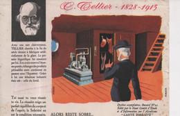 Tellier 1828-1913 Illustration Pineau Publicis Série Destins Exemplaires Fabrication Glace Artificielle Santé Sobriété - S