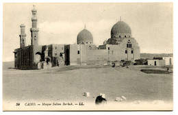 RC 20853 EGYPTE CAIRO MOSQUE SULTAN BARKUK CARTE POSTALE - POSTCARD - Cairo